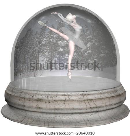 Ballet Snowglobe