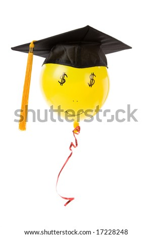 balloon and Black Mortarboard, high pay jobs