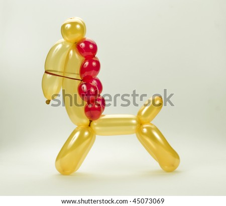 balloon animal horse