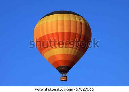 Balloon flight into the African sky