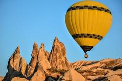 balloon in the Cappadocia turkey