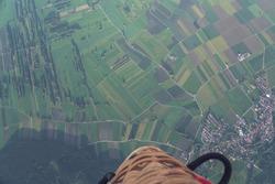 Balloon ride over the Allgäu