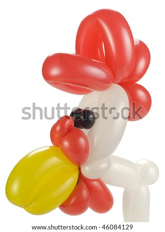 balloon rooster/chicken