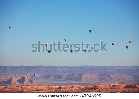 balloons festival in Page,USA