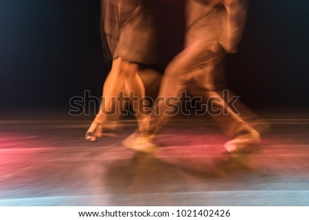 Ballroom samba movement