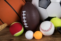 Balls, Sports Equipment, Winner background