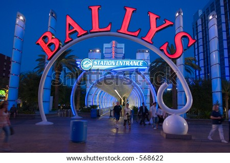 Ballys Resort Las Vegas USA (exclusive at shutterstock)