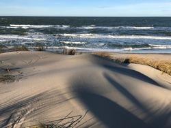 Baltic Sea.  Curonian Spit.  Kaliningrad region.  2020.