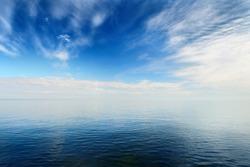 Baltic sea in beautiful calm weather