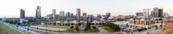 Baltimore in the state of Maryland, United States of America, view of downtown, the Inner Harbor on the Patapsco River