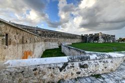 Baluarte de San Francisco, fortifications of San Francisco de Campeche in Mexico.