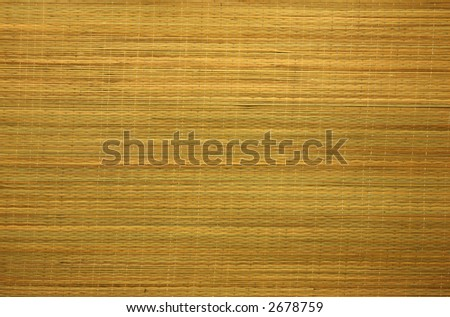 Bamboo Curtain Background Texture, Horizontal