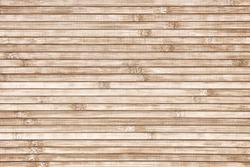 Bamboo horizontal slats background. Natural texture