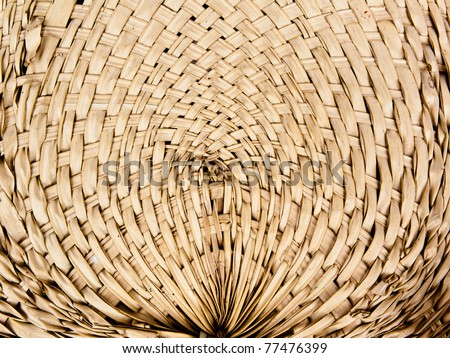 Bamboo is a cross-made curved horizontal wind background texture