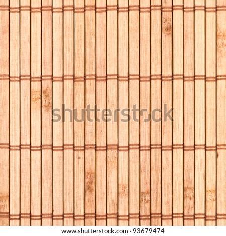 Bamboo mat closeup for texture - stock photo