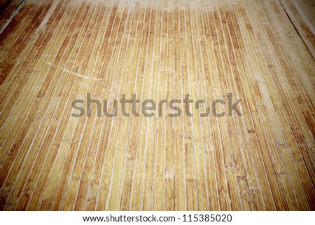 Bamboo panels for background