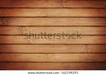 bamboo slats background - stock photo