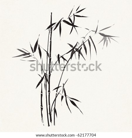 Bamboo (Traditional Asian ink painting)