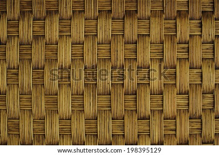 Bamboo wall panels used on houses in asia