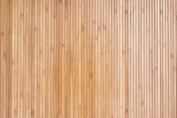 Bamboo wallpaper background. Brown background of bamboo wallpaper. Wall decoration