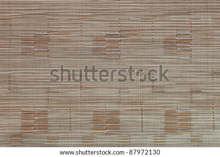 bamboo weaving tablecloth texture (Chinese Style)