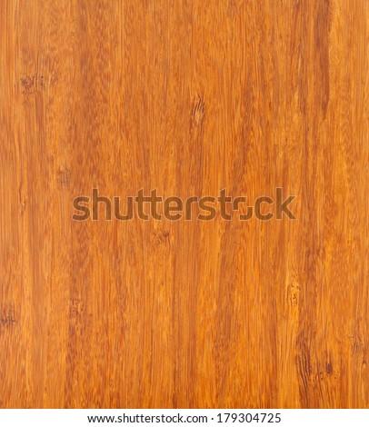 Bamboo wood laminate flooring texture close up - stock photo