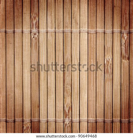 Bamboo wood texture with natural patterns