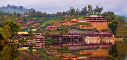 Ban Rak Thai , also known as the Thai-loving village. Ban Rak Thai is a village near Mae Hong Son. It was settled by former Kuo Min Tang (Nationalist) fighters from Yunnan Province, China.