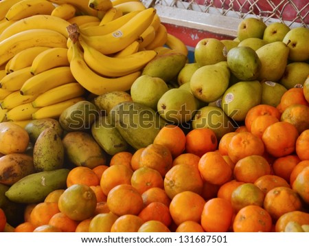 banana and orange fruits amazing vegetable fruits lunch eat healthy pear