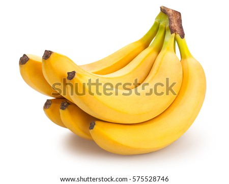 banana cluster isolated