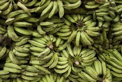 Banana in the market