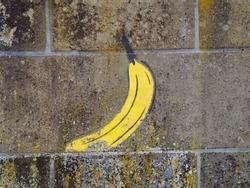 Banana Streetart