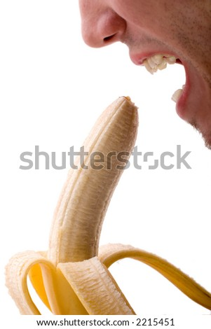 banana-test - stock photo