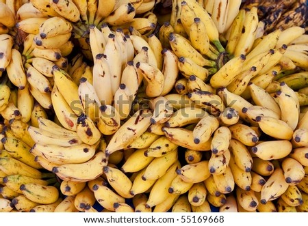 bananas in the Indian market