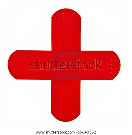 band aid red cross