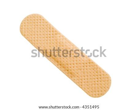 Bandage isolated on a white background