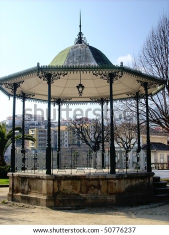 Bandstand in Lamego, Portugal