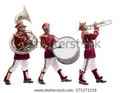 bandwalas with instruments...