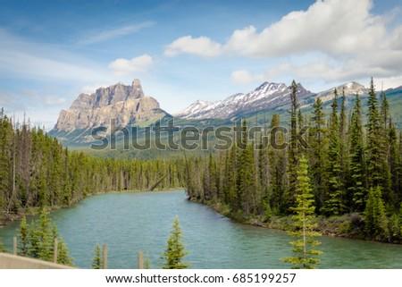 Banff landscape in Summertime #685199257