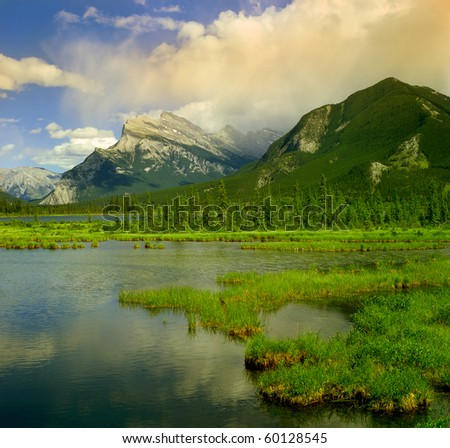 banff national park  canada ...