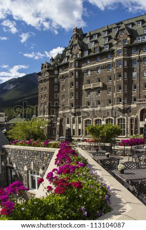 Banff Springs Hotel in Banff National Park