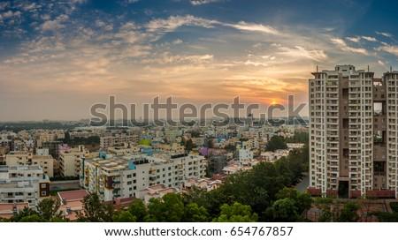 Bangalore Cityscape #654767857