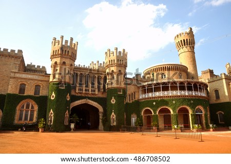 Shutterstock Bangalore Palace is a famous iconic landmark in Bangalore City, India. Popular tourist attraction in Bangalore City.