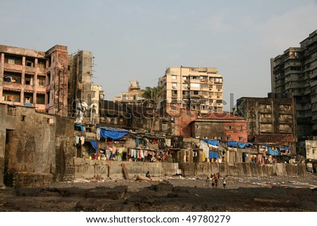Banganga Village in Bombay City, India
