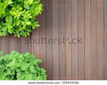 bangkirai terrace