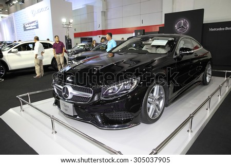 BANGKOK August Mercedes Benz SClass Cope Car On Display At - Car show displays for sale