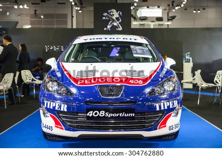BANGKOK AUGUST PEUGEOT On Display At Big Motor Sale On - Car show displays for sale
