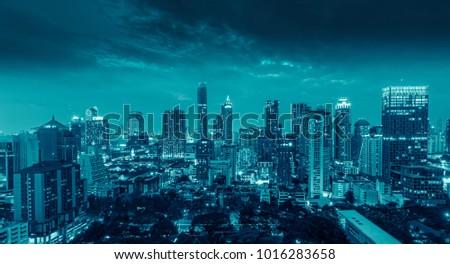 Bangkok city at  Thailand #1016283658