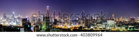 Bangkok city scape #403809964