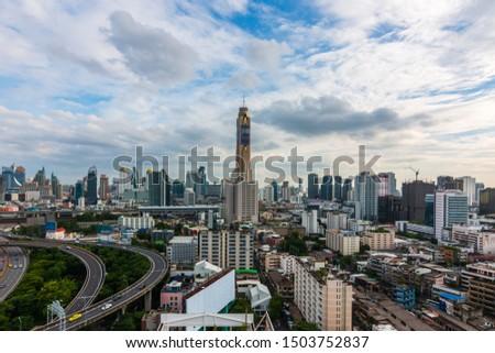 Bangkok cityscape bangkok city of Thailand #1503752837